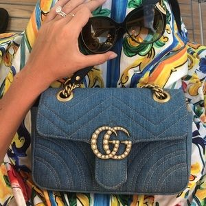 Auth. Gucci Marmont Small Bag- limited edition!!!